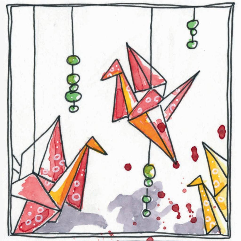 Illustration Japanisches Kulturzentrum Wien | Buchprojekt Grätzel Gekritzel vom Verlag Punktgenau und den Urban Sketchers Vienna