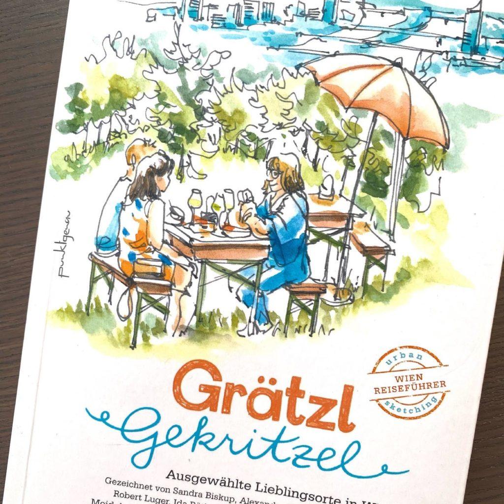 Buchprojekt Grätzel Gekritzel vom Verlag Punktgenau und den Urban Sketchers Vienna
